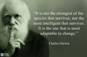 チャールズ・ダーウィン英語名言